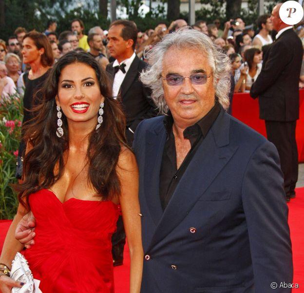 Flavio Briatore et sa femme Elisabetta