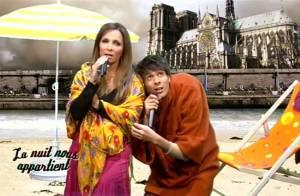 Découvrez Mustapha El Atrassi en Quasimodo avec Hélène Ségara et... en cuistot avec une candidate sexy de Top Chef !