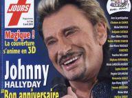 Johnny Hallyday fête les 50 ans de Télé 7 Jours sur une couverture... en 3D ! C'est magique et superbe !