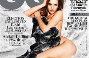 Rosie Huntington-Whitely : Top courtisé et plus belle femme d'Angleterre, elle devient tentatrice...