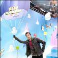 Adrien Brody a eu l'immense privilège de rencontrer les stars des Studios Pixar à Euro Disney le 27 mars 2010