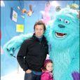 Fabien Galthié a eu l'immense privilège de rencontrer les stars des Studios Pixar à Euro Disney le 27 mars 2010