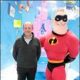 Jean-Michel Aphatie a eu l'immense privilège de rencontrer les stars des Studios Pixar à Euro Disney le 27 mars 2010