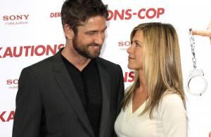 Gerard Butler et Jennifer Aniston encore collés-serrés lors de leur opération séduction...