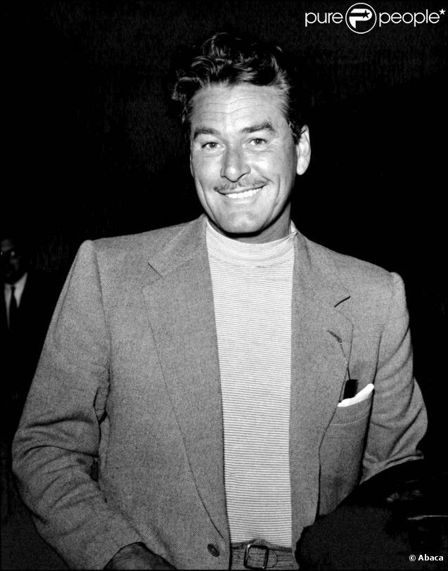 Errol Flynn, légendaire acteur des années 30 dont le fils a mystérieusement disparu en 1970 au Cambodge