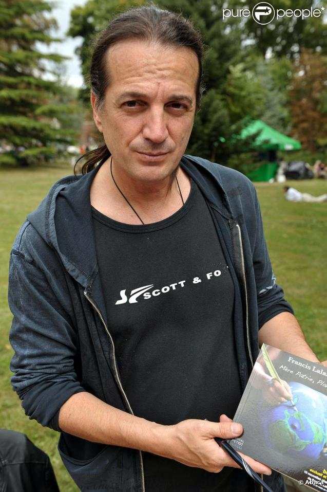 Francis Lalanne, visiblement très fatigué, s'ext exprimé sur son malaise au  6/9  d'NRJ, le 7 avril 2010 !
