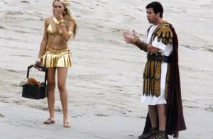 PHOTOS : le tournage du prochain film d'Adam Sandler et Ben Stiller...