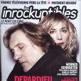 Gérard et Julie Depardieu en couverture des Inrockuptibles