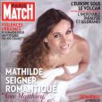 Mathilde Seigner en couverture de Paris Match