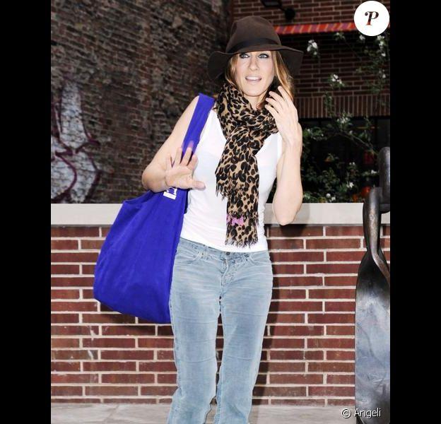 Sarah Jessica Parker à New York. Le 21 avril 2010