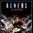L'affiche d' Aliens le retour , de James Cameron, sorti en 1986.