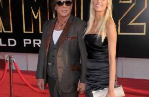 Mickey Rourke et sa jeune bombe, Sylvester Stallone et sa belle Jennifer... aux côtés de Michelle Monaghan et Kelly Lynch !