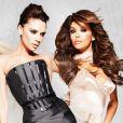 Eva Longoria et Victoria Beckham pour LG