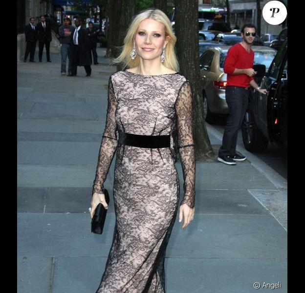 Gwyneth Paltrow au 150e anniversaire de la maison Chopard, à New York. 29/04/2010