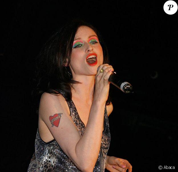 La chanteuse britannique Sophie Ellis-Bextor donne un concert privé au club londonien G-A-Y Heaven, le dimanche 2 mai.