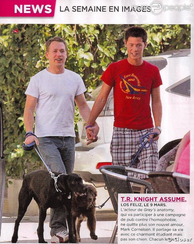 T.R. Knight et son petit ami