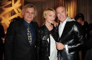 Jean-Claude Jitrois et sa ravissante muse Sarah Marshall de nouveau réunis pour un vernissage d'exception !