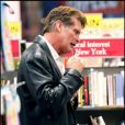 David Hasselhoff dans une librairie de New York le 4 ami 2010