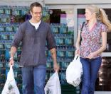 Michael Vartan et sa fiancée Lauren Skaar, mai 2010 à West Hollywood