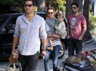 Jessica Alba et sa délicieuse fille Honor ont retrouvé l'homme de leur vie : le beau Cash Warren !