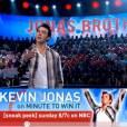 Kevin Jonas dans l'émission Minute to Win It sur NBC