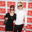 Kelly Osbourne et Luke Worrell lors de la soirée Ray-Ban à New York, le 12 mai 2010