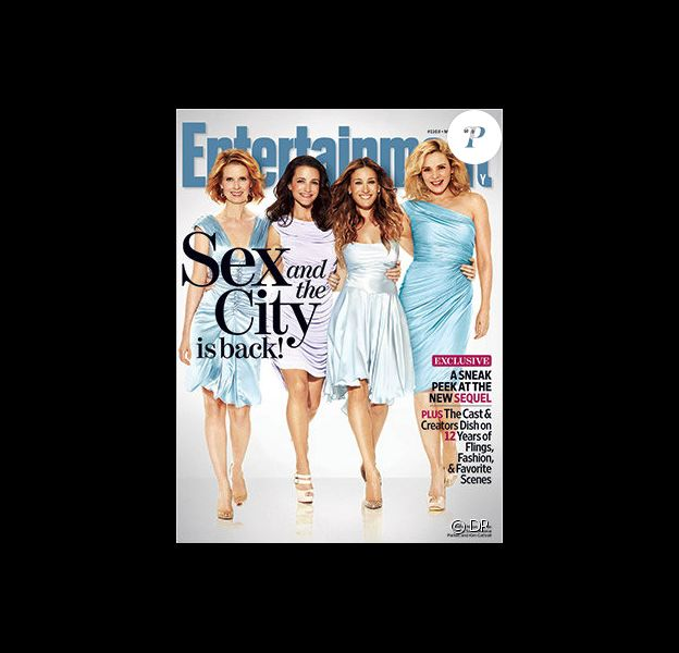 Les Sexy City Girls en couverture d'Entertainment Weekly