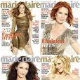 Les Sexy City Girls en couverture de Marie Claire US