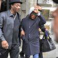 Whitney Houston quitte son hôtel de Berlin le 13 mai 2010
