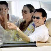 Jennifer Lopez et Marc Anthony : Ils voguent en amoureux sur les eaux françaises...
