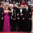 Montée des marches de l'équipe du film La Princesse de Montpensier. Le 16 mai à Cannes
