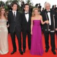 L'équipe du film La princesse de Montpensier, au  63e festival de Cannes. 16/05/2010