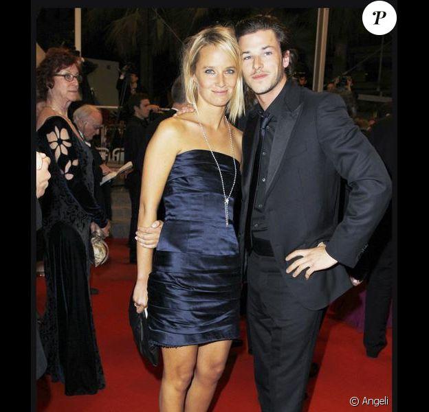 Gaspard Ulliel, fou amoureux de Jordane sur le tapis rouge du festival de Cannes. 16/05/2010