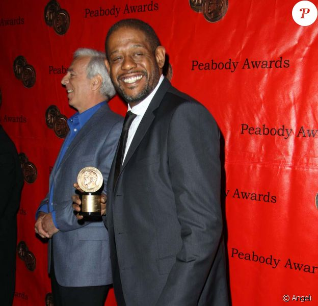 Forest Whitaker aux 69e Peabody Awards, à New York, le 17 mai 2010