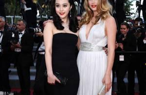 Les L'Oréal Girls Doutzen Kroes et Fan Bingbing... Un duo somptueux qui a illuminé la Croisette !
