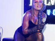 Happy birthday Grace Jones : La tigresse a fêté ses 62 ans... en body et bas résille !