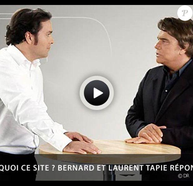 Bernard Tapie prête sa notoriété et son bagou au site lancé par son fils Laurent, www.bernardtapie.com. Mais les concurrents veillent au grain...