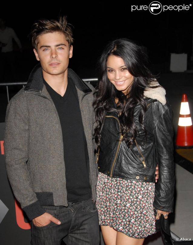Zac Efron et Vanessa Hudgens lors de l'avant-première de Get him to the Greek à Los Angeles 25 mai 2010