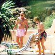 John Bryan et la Duchesse d'York, Sarah Ferguson, à St Tropez Sarah divorcera du Prince Andrew après ces photos prouvant l'adultère...