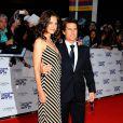Katie Holmes et Tom Cruise lors de la soirée des National Movie Awards à Londres le 26 mai 2010