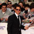 Tom Cruise lors de la soirée des National Movie Awards à Londres le 26 mai 2010