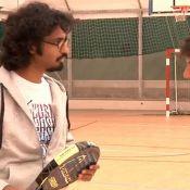 Sébastien Folin : Regardez-le, raquette en main, s'entraîner pour... Roland-Garros !