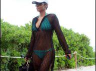 Halle Berry : Elle s'offre un week-end en célibataire, mais entourée de jolis garçons...