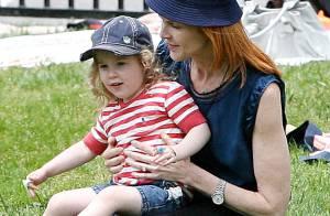 Marcia Cross : tendre complicité avec sa fille Savannah... Mais où est passée Eden ?