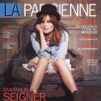 Emmanuelle Seigner en couverture de  La Parisienne , en kiosques le 5 juin 2010.