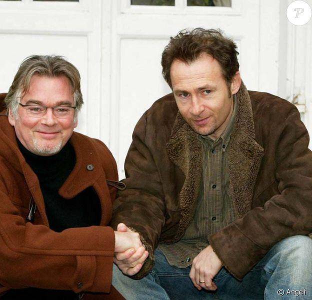 Christian Rauth et Daniel Rialet, héros de la série Père et Maire, ici en 2004