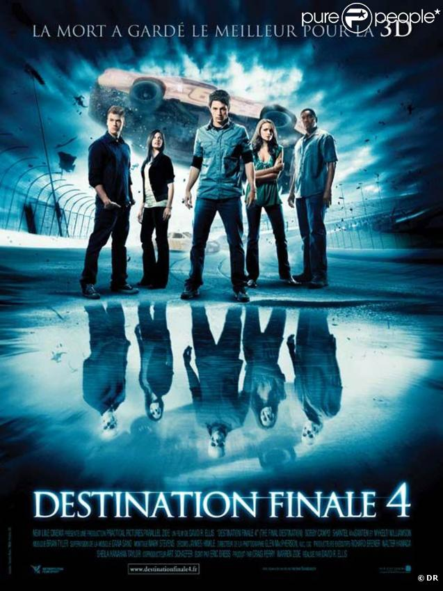 Des images de  Destination Finale 4 , sorti en août 2009.