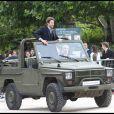 Bradley Cooper, lors du photocall promotionnel de  L'Agence tous risques  (qui sortira le 16 juin sur nos écrans), sur le Champ de Mars, à Paris, le 14 juin 2010.