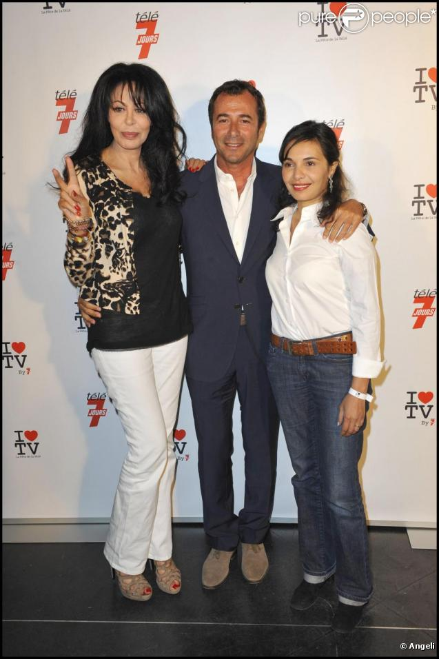 bernard montiel yamina benguigui et sa da jawad la premi re soir e de la t l vision au. Black Bedroom Furniture Sets. Home Design Ideas