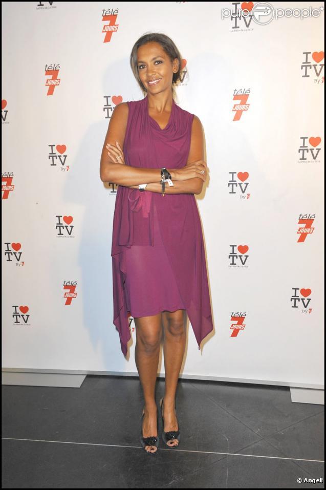 Karine Le Marchand lors de la soirée pour la télévision organisée par Télé 7 Jours le 15 juin 2010 à Paris